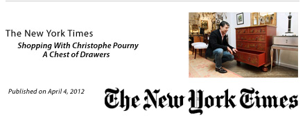 Christophe Pourny on the New York Times